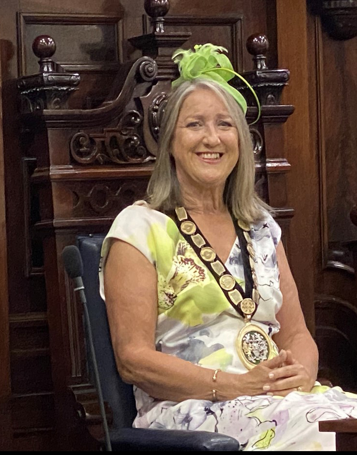 Chairman of the Council Cllr Mrs Julie Gooding