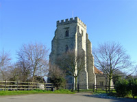 A photo of Canewdon Church provided by Simon Crettenden