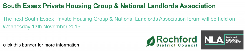 Landlord forum meeting - click for more information