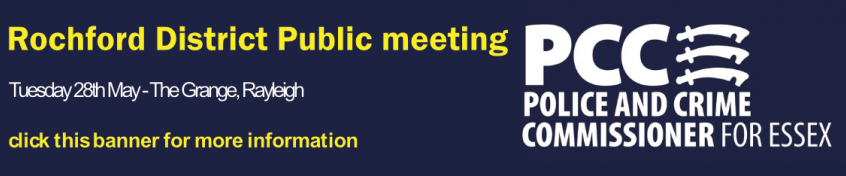 Rochford District public meeting - click this banner for more info