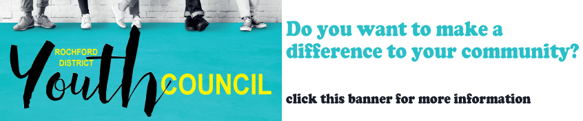 Rochford Youth Council - Do you want to make a difference to your community - click this banner for more information