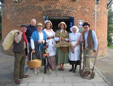 Volunteers at the Rayleigh Windmill
