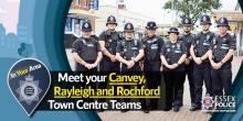 New police officers for Rochford District and Castle Point