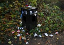 Let keep our bins from overflowing