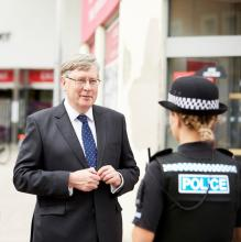 police fire and crime commissioner