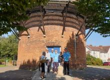 Councillors visiting Rayleigh Windmill