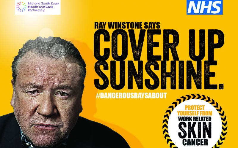 Ray Winstone 'Cover Up Sunshine' campaign