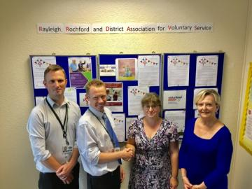 RRAVS voluntary sector grant