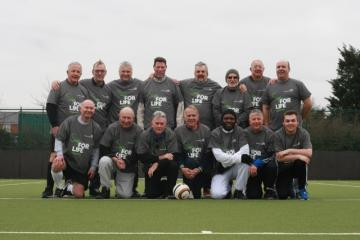 Walking Football Sign For Life
